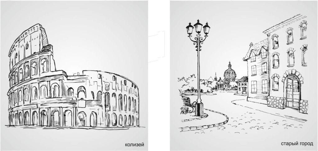 Возможные декоры фасадов Adelkreis