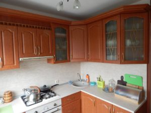 Кухня с фасадами МДФ Ваш День, фрезеровка 001