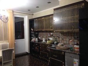 Кухня с фасадами МДФ Ваш День, фрезеровка 065