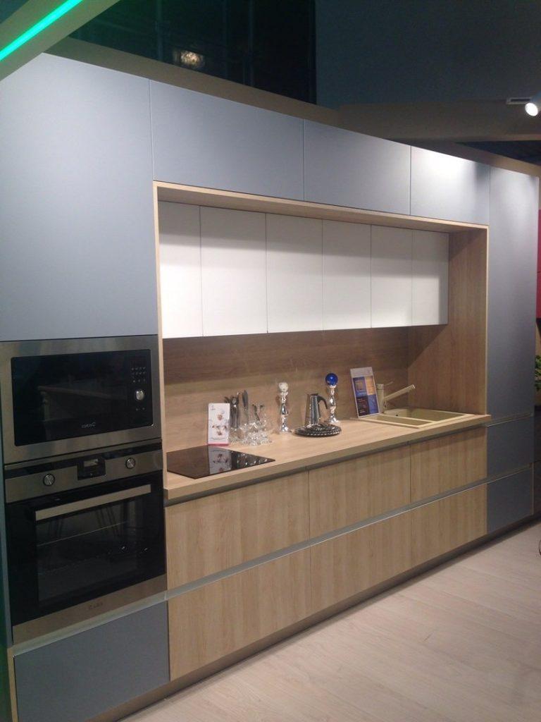 Кухня с фасадами LUNA
