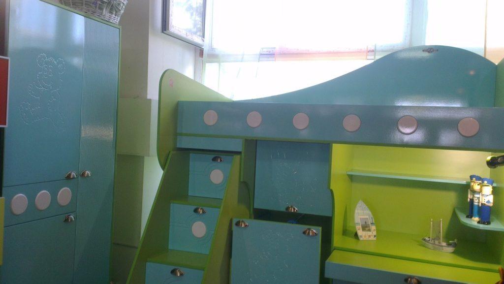 Детская мебель с фасадами МДФ в пленке ПВХ Ваш День