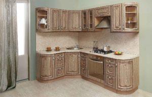 Кухня с фасадами МДФ Ваш День