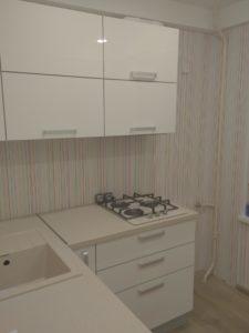 Мини кухня без духовки с фасадами глянец Alvic Luxe