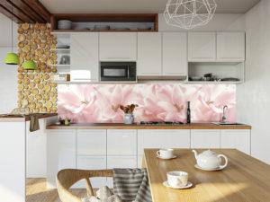 SP 006 Розовые лилии в интерьере