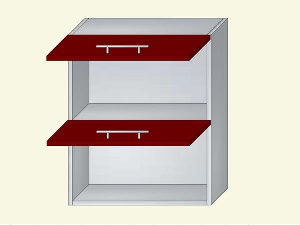 Корпус для кухни навесной В72см, арт. 44К