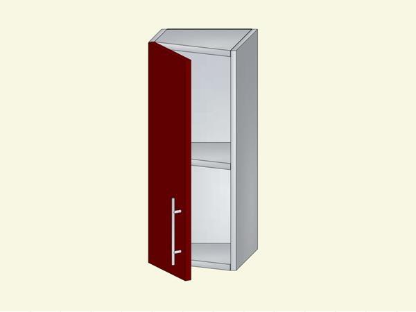 Корпус для кухни навесной закрытый, оконечный, арт. 5К