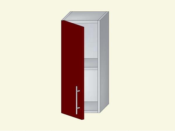 Корпус для кухни навесной закрытый, оконечный, арт. 6К