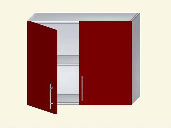 Корпус для кухни навесной на 2 двери, арт. 43К