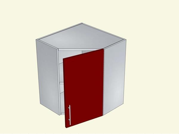 Корпус для кухни навесной угловой на 1 дверь, арт. 8К