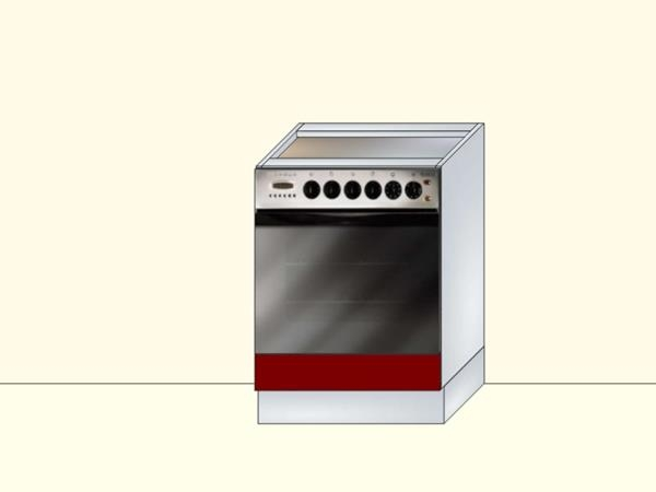 Напольный модуль для кухни под встраиваемый духовой шкаф с 1 ящиком, арт. 31К