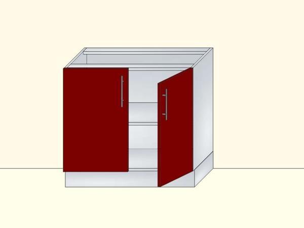 Напольный нижний модуль для кухни на 2 двери, арт. 40К