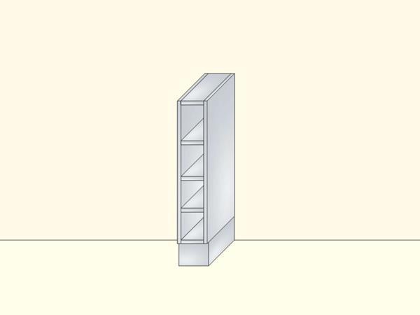 Напольный нижний модуль для кухни открытый, арт.14К