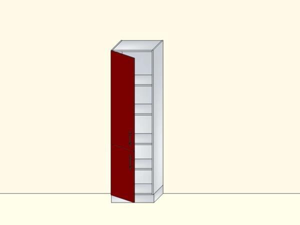 Напольный нижний модуль-пенал для кухни с 2 дверями, арт. 36К