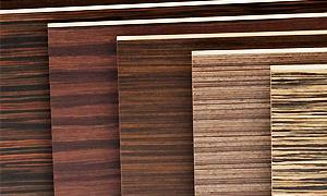 Фасады из МДФ 18 мм натуральный шпон